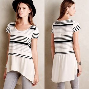 Anthropologie Deletta Striped Top